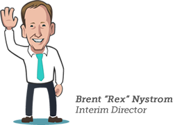 Brent 'Rex' Nystrom, Interim Career Center Director