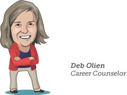 Deb Olien, Career Councelor
