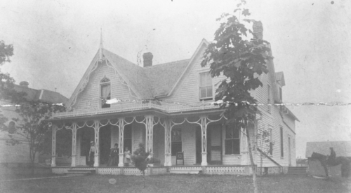 Dacie's House in the 1870s.