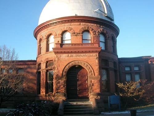 Goodsell Observatory, home of Carleton's Linguistics Program