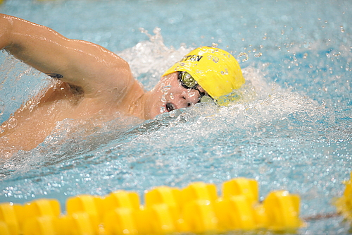 Erik Klontz, Men's Swimming and Diving Action