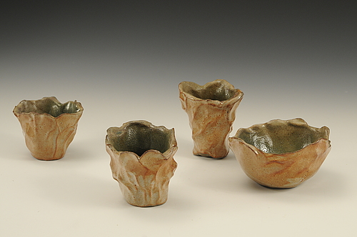 Jon Kittaka ceramic cups