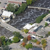 Northfield Flood (Aerial Photo)
