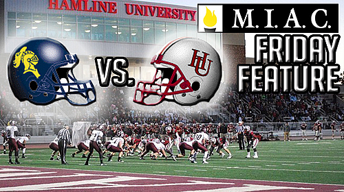 MIAC Friday Feture on Dick Tressel return to Hamline
