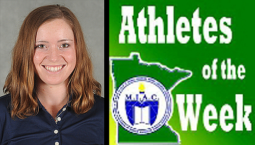 Shannon Holden MIAC AOW, Women's Golf
