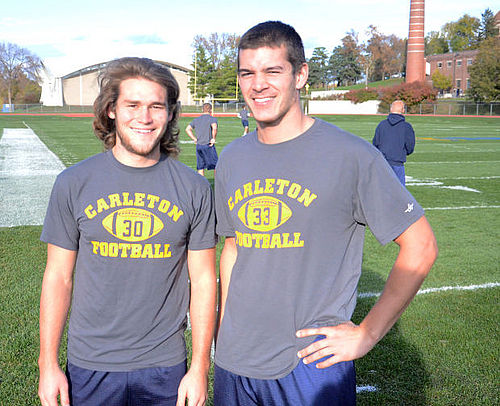 Kyle Kasten, Luke Reppe, football