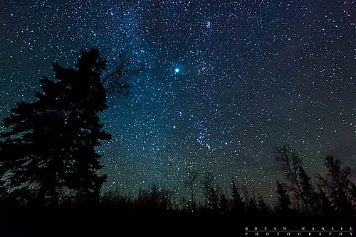 Minnesota Night Sky