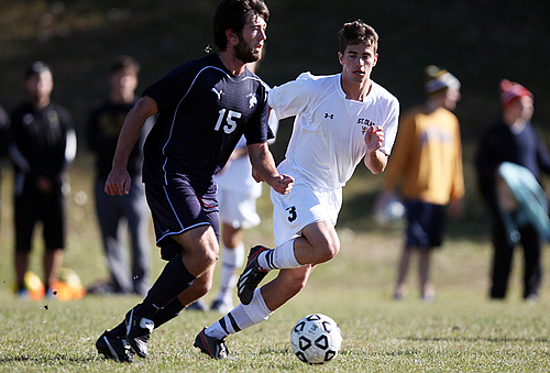 Kurt Heise, men's soccer action (no rights)