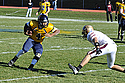 John Baker '14, tallied a career high of three scores, rushing for 59 yards on 15 carries.