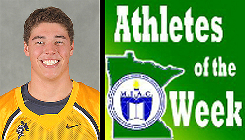 Mitch Heflin, football, MIAC AOW image