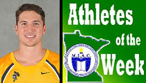 Anthony Kemper, football, MIAC AOW