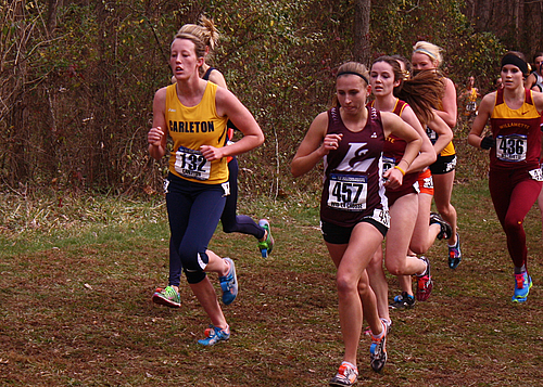 Sally Donovan, women's cross country action