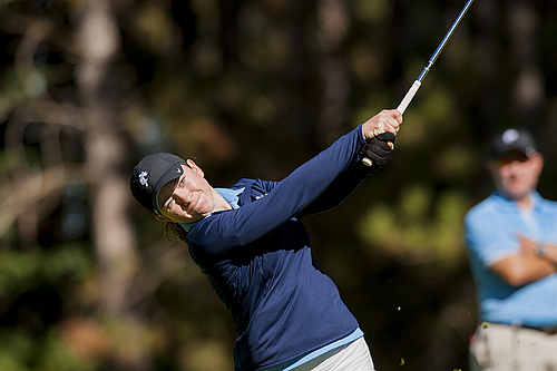 Shannon Holden, women's golf action