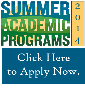 Summer Academic Programs 2014