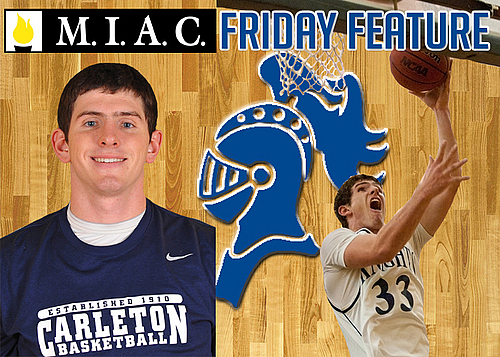 Taylor Hanson, men's basketball action, Friday Feature image