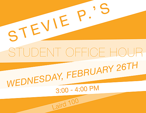 President's Student Office Hour