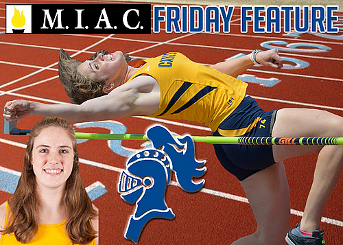 Amelia Campbell, women's track and field, MIAC Friday Feature Image
