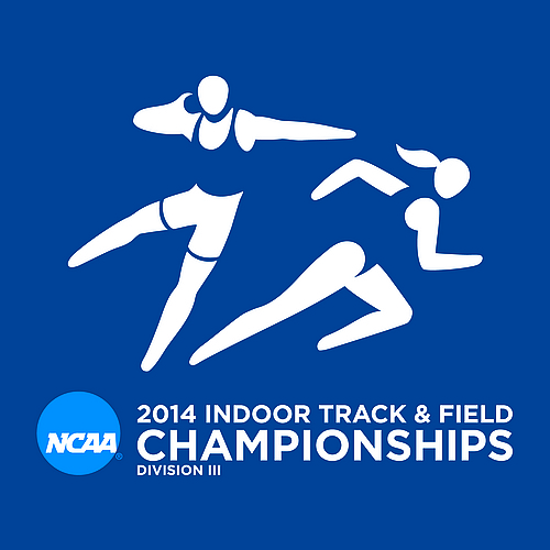2014 NCAA Indoor Track & Field Championships logo (square)