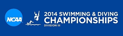 2014 NCAA Swimming & Diving Championships logo (horizontal)