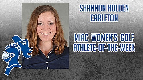Shannon Holden, MIAC athlete-of-the-week image