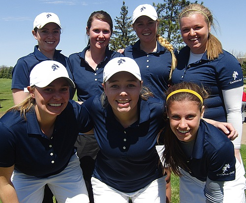 Women's Golf, 2014 team photo