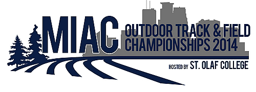 2014 MIAC Outdoor Track & Field Championships logo