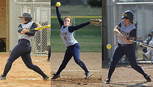Softball, All-MIAC image 2014