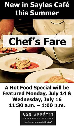 Chef's Fare summer