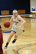 Gabbi Stienstra, women's basketball action