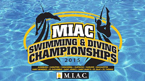2015 Miac Swimming Diving Championships Preview Varsity Athletics Carleton College