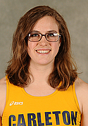 Amelia Campbell, women's track & field headshot
