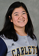 Mia Orans, women's softball headshot