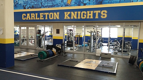 Laird Stadium Weight Room