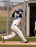 Cody Bohlman, men's baseball action