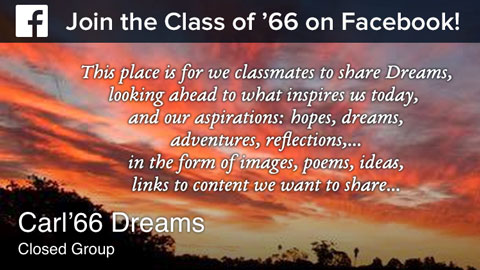 Carl '66 Dreams on Facebook
