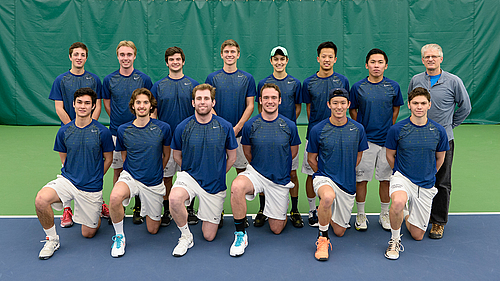 Men's Tennis, team photo 2015