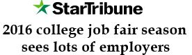 StarTribune Job Fair Article