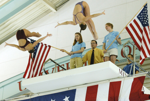 Pre-Meet Diving Show