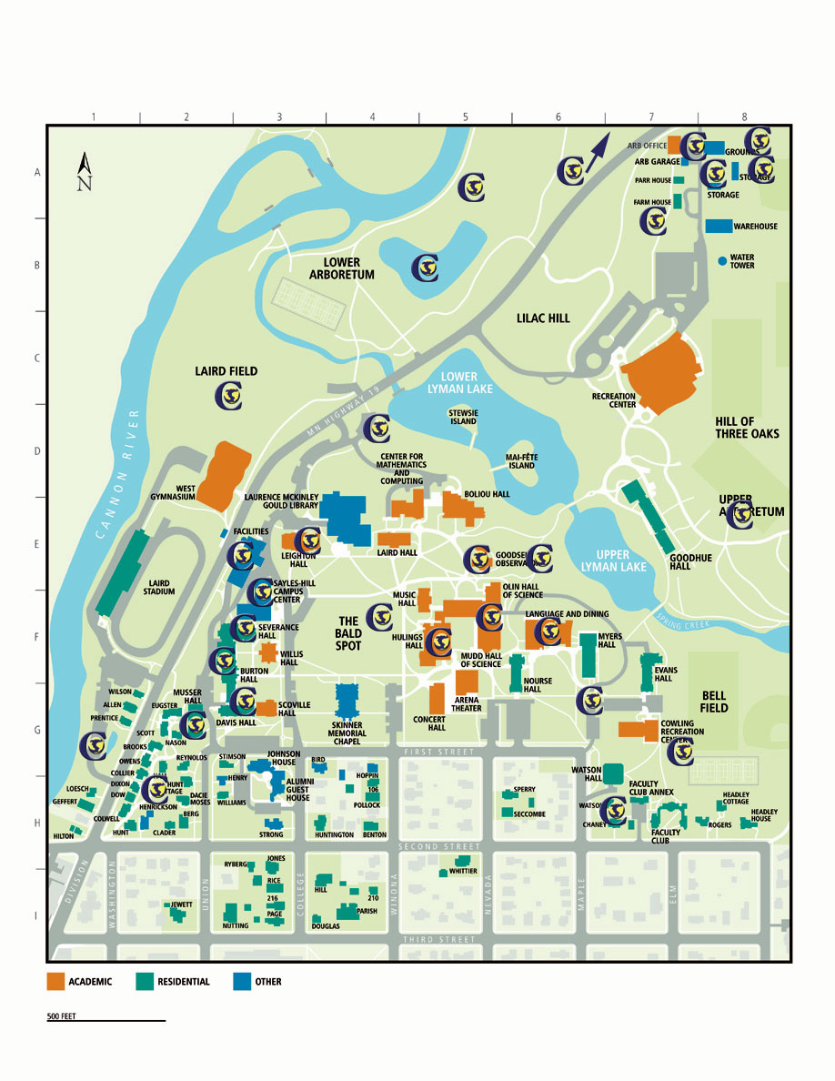 Sustainability Map of Campus – Environmental Studies ...