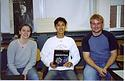 Fall 2003 physics 234 students take a break