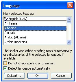 ms office 2003 2004 proofing tools foreign language technology