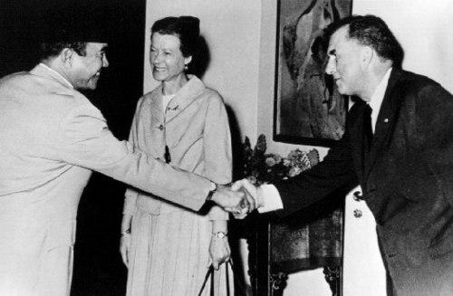 President Sukarno President Sukarno Feb