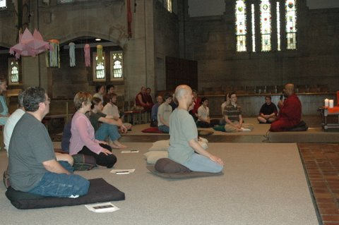 Teaching Led by Bhante Sathi