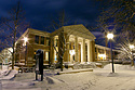 Sayles-Hill Campus Center in Winter