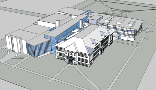 Arts Union Rendering