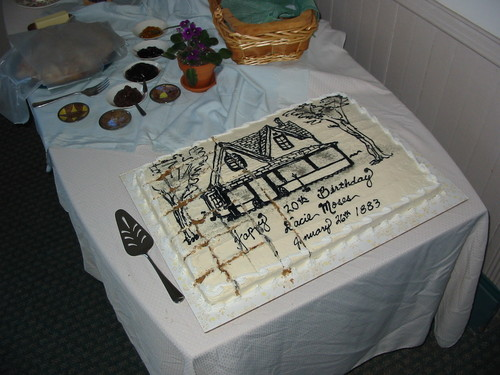 Dacie's 120th Birthday Party, Jan. 16, 2003