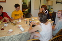 Sunday brunch, fall 2004