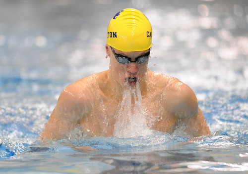 Carleton College Varsity Athletics Men 39 S Swimming And Diving Goodyear Receives Warnecke