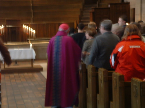 Archbishop at Catholic Mass on March 9, 2008