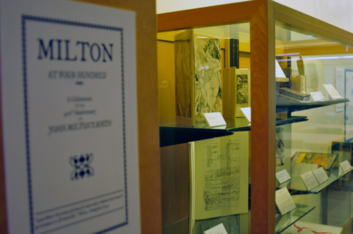 milton exhibit
